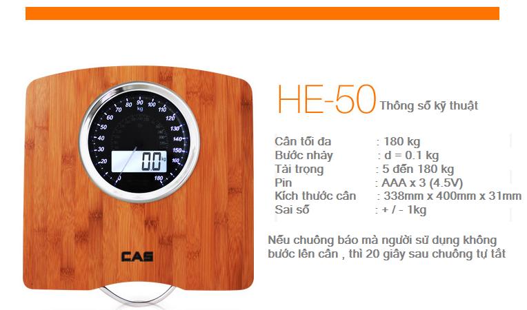 Cân sức khỏe HE-50