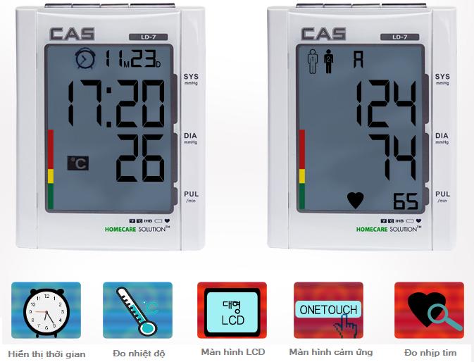 Máy đo huyết áp LD-7
