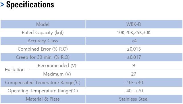 Cảm biến tải WBK-D