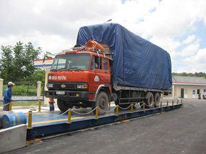 Hình ảnh của Trạm cân xe tải sàn nổi 40, 60, 80 tấn