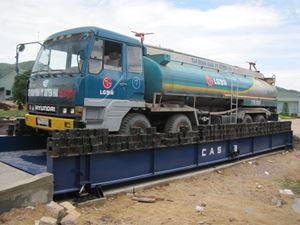 Hình ảnh của Cân xe tải sàn nổi 60 tấn