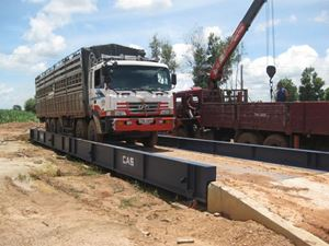 Hình ảnh của Cân xe tải sàn nổi 80 tấn